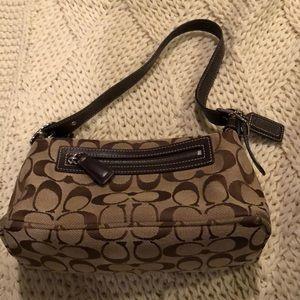 Small Coach brown bag